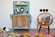 #kinderkeuken #speelgoed #meidekamer | Ta.Ta. Unconventional Design For Kids  Mooie kleur