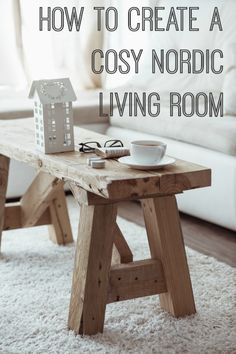 How to create a cosy Nordic or Scandinavian living room including how to shop for the look on eBay