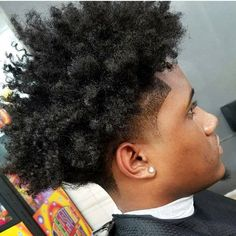 50 Fade and Tapered Haircuts For Black Men Taper Fade Afro, Taper Fade Haircut, Tapered Haircut, Afro Fade Haircut, Tapered Afro, Haircut Men, Black Haircut Styles, Black Men Haircuts, Black Men Hairstyles