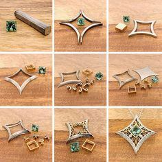 Basics Of Soldering Precious Metals Filigree Jewelry, Wire Jewelry, Jewelry Crafts, Silver Jewelry, Handmade Jewelry, Silver Ring, Jewelry Ideas, Silver Earrings, Jewellery