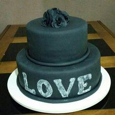 Chalkbordcake