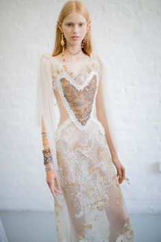 Behind-the-scenes at Rodarte during New York Fashion Week. Photographed by Kevin Tachman.