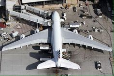 Spectacular photo of Air France Airbus A380 at LAX airport