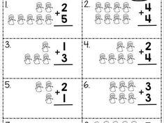 Snowman Addition | Worksheet School