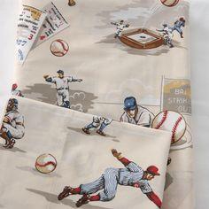 Vintage baseball bedding