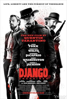 Nuevo poster de #DjangoUnchained de Quentin Tarantino