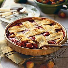 Fig and Raspberry Cobbler