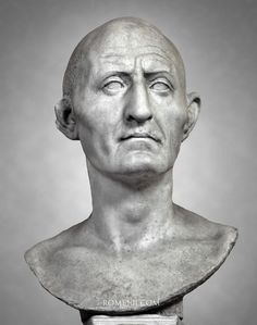 (c. 27 BCE - 14 CE) Roman Portrait of a Man