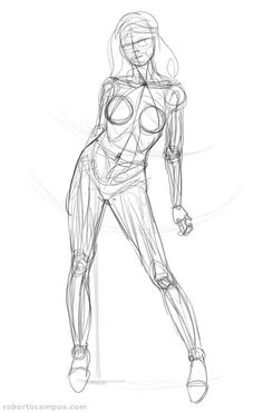 Enjoy a collection of references for Character Design: Female Anatomy. The collection contains illustrations, sketches, model sheets and tutorials. Body Reference Drawing, Drawing Body Poses, Art Reference Poses, Design Reference, Anatomy Sketches, Body Sketches, Anatomy Drawing, Human Anatomy Art, Figure Drawing Female