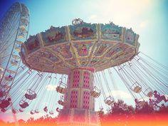 Merry-go-round in Paris Tuileries garden