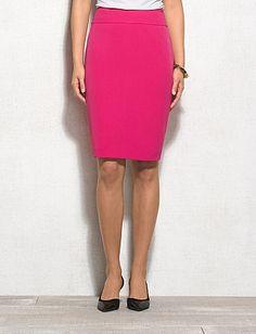 JONES STUDIO® Stretch Crepe Pink Skirt