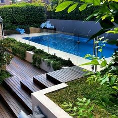 Stock Tank Swimming Pool Ideas, Get Swimming pool designs featuring new swimming pool ideas like glass wall swimming pools, infinity swimming pools, indoor pools and Mid Century Modern Pools. Find and save ideas about Swimming pool designs. Backyard Pool Landscaping, Backyard Pool Designs, Swimming Pools Backyard, Swimming Pool Designs, Pool Fence, Landscaping Ideas, Backyard Ideas, Pool Retaining Wall, Pool Decks