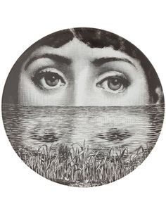 """Plate 285 from Piero Fornasetti's """"Theme and Variations"""" series"""