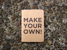 Make your own Notebook or buy a premade one @ http://www.scoutbooks.com/