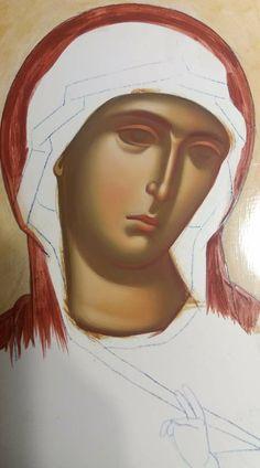 Byzantine Icons, Byzantine Art, Religious Icons, Religious Art, Madonna, Greek Icons, Church Icon, Celestial Sphere, Russian Icons