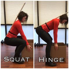 Squatting VS Hip-Hinging and Why It Matters