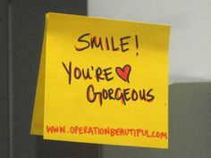 A Message from Caitlin: Happy Tuesday! If you love Operation Beautiful, post a note, take a picture, and send it to me at Love Is Sweet, Love You, Hello Gorgeous, Beautiful, Happy Tuesday, Have Some Fun, Quotes To Live By, Inspirational Quotes, Wisdom