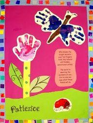 Preschool Graduation Art Project | sweet end of kindergarten poem and art project