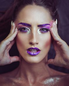 Photograph Astral by Nikos Avdikos on 500px #makeup #girl #model #beauty #fashion