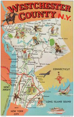 Westchester County NY Map Large Map New York County Map - Nys county map