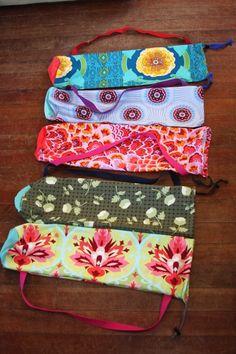 New Yoga Mat Bags! « KATE HASSETT