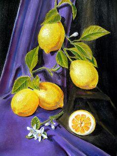 Sorrento Lemons' - http://irina-sztukowski.artistwebsites.com/featured/sorrento-lemons-irina-sztukowski.html