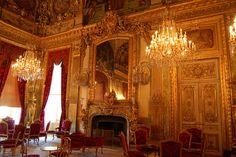 Napolean III Grand Salon, The Louvre Paris