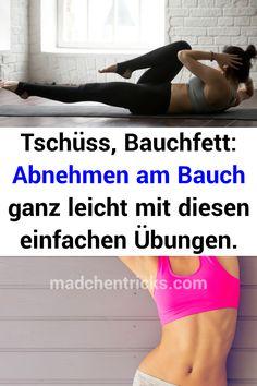 Tschüss, Bauchfett: Abnehmen am Bauch ganz leicht mit diesen einfachen Übungen. #Bauchfett #Abnehmen #Bauch #Übungen Fitness Studio, Bicycling
