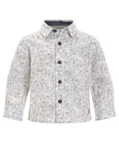 My Design Moped Print Shirt | White | Monsoon