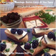 An easy appetizer. Enjoy with a bottle of wine.