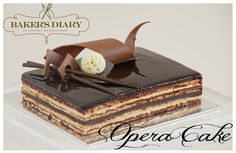 Bbc - food - recipes : opera cake, A joconde sponge is a decorative almond-flavored sponge cake made in layers. Description from homedesignblogs.net. I searched for this on bing.com/images