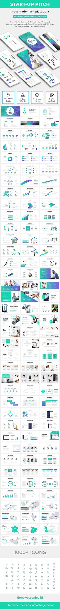 Buy Start-Up Pitch Deck Keynote Template 2019 by on GraphicRiver. Start-Up Pitch Deck Keynote Template 2019 General Features 114 well designed slides Full HD aspect ratio 08 Coo. Business Presentation Templates, Business Templates, Swot Analysis, Cool Themes, Keynote Template, Pitch, Infographic, Web Design, Deck