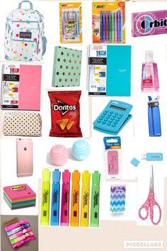 Emergency kits · middle school hacks, life hacks for school, high school hacks, school school,