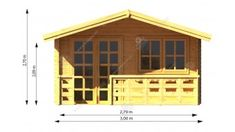 Diego Shed, Outdoor Structures, Barns, Sheds