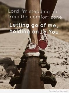 Letting go of me quote