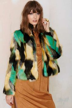 Heating Up Faux Fur Jacket