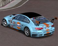 gulf racing | BMW M3 GT2 Gulf Racing #58