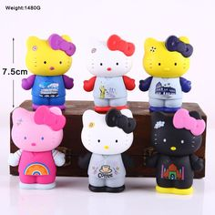 Hello Kitty PVC Figure Collection 7.5cm 6pcs //Price: $19.99 & FREE Shipping // World of Hello Kitty http://worldofhellokitty.com/free-shipping-6pcs-hello-kitty-colorful-boxed-7-5cm-pvc-action-figure-collection-model-doll-toy-gift-6-version/    #hellokitty