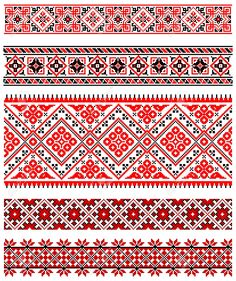 8877453-illustrations-of-ukrainian-embroidery-ornaments-patterns-frames-and-borders--Stock-Vector.jpg 1,091×1,300 pixels