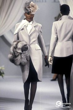 1989 Christian Dior, Autumn-Winter, Couture