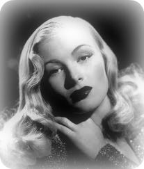 Veronica Lake hairstyle 1940