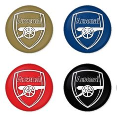 "ARSENAL Football Club 1.75"" Badges Pinbacks, Mirror, Magnet, Bottle Opener Keychain http://www.amazon.com/gp/product/B00EY4YSBA"