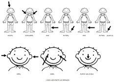 lichaamsdelen leren