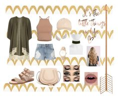"""""""Nude"""" by frania-hernandez on Polyvore featuring Barclay Butera, Dorothy Perkins, NLY Trend, Frame, Chloé, Miss Selfridge, Top End, Kate Spade and BP."""