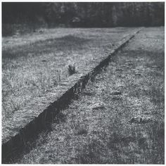Kenna Michael . barracks foundations, Treblinka, 1998