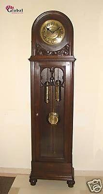 Our antique German clock is more plain, but same shape.