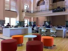collaborative work space - Minneapolis Grain Exchange Renovated