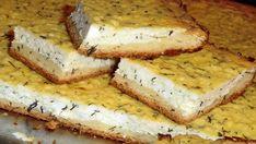 Slaný koláč se sýrem a koprem