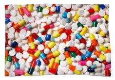 Pills Pillow Case