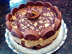 Reese's PB Cup Brownie Bottom Cheesecake